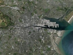 Video demo of Google Earth on the LCD Touchscreen