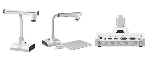 The Elmo L12id is an A3 visualiser that can connect direct to the projector. It is also best for fast video and so is the most suitable for technical graphics in secondary schools.